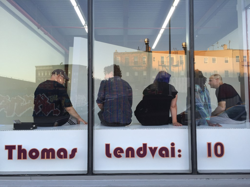 Searching for the Meaning of Art: 'Thomas Lendvai: 10' at ODETTA