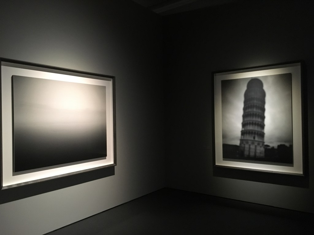 "Installation view ""Hiroshi Sugimoto: Gates of Paradise"" at Japan Society"