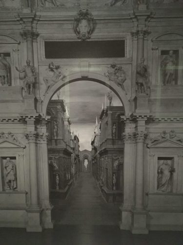 Installation Detail, Hiroshi Sugimoto: Gates of Paradise at Japan Society