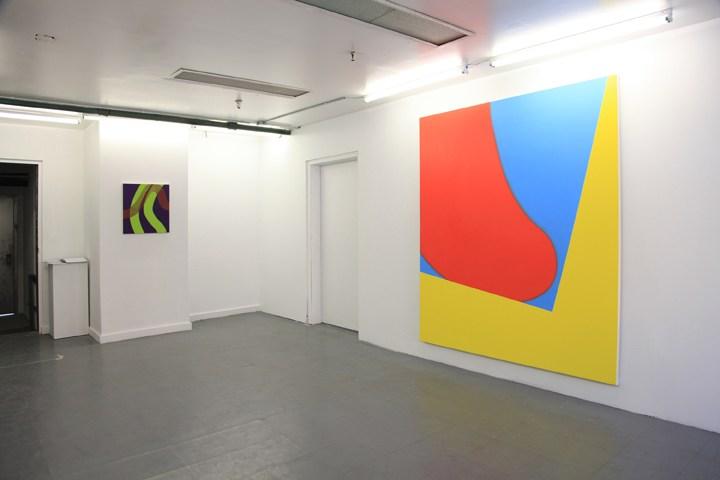 """Osamu Kobayashi, """"Woogie"""", Solo Exhibition, Installation image, 2016"""